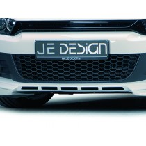 JE DESIGN spoilerlip middle, carbon-look, does  only in combination with frontspoiler JE1320 VW Scirocco type 13