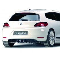 "JE DESIGN diffusor cover VW Scirocco type 13  only with double exhaust pipe ""middle"" JE13A211585-1"