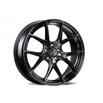 JE DESIGN twin five wheel 8.0 x 18 OS 45 112-5-57  glossy black