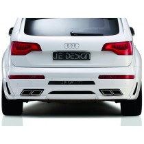JE DESIGN rear valance Audi Q7 4L  fits on cars with PDC