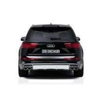 JE DESIGN rear valance cover  Audi SQ7 and Q 7 4M with S-Line exterior ( 06.15-)