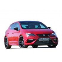 JE DESIGN frontbumper cover 3-pcs  Seat Leon 5F FR 01.17- / Cupra all 02.17-