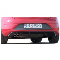 JE DESIGN rear cover Seat Leon 5 F, 01.17-  glossyblack, fits only on Leon FR-ST