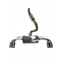 JE DESIGN cat back exhaust syst Seat Ateca 5FP 4WD  with 2 x exhaust pipe 80 mm le/ri, 140 KW, 2.0 TSI