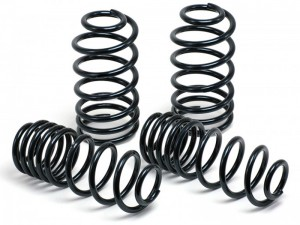 JE DESIGN lowering kit approx.30 mm Seat Leon 5 F  -930 kg front axle weight, with four-link suspen